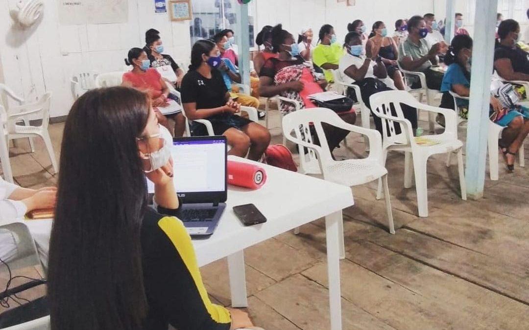 COLOMBIA: TRABAJANDO POR LA PAZ, LA SALUD Y LOS DERECHOS HUMANOS